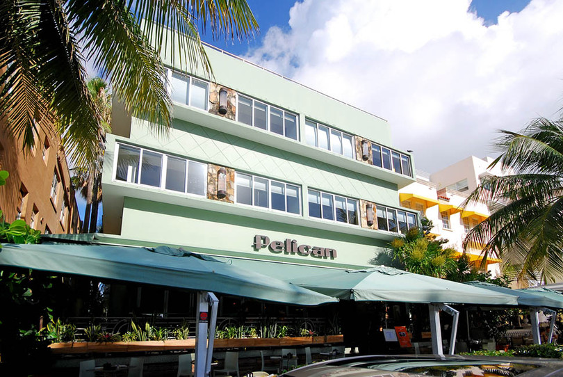 Pelican Hotel_Ocean Drive_Single Hung & Fixed Windows_Full View Style_II